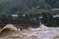 大型台風による豪雨