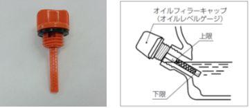 GENERACポータブル発電機 LP3250 オイルフィラーキャップ