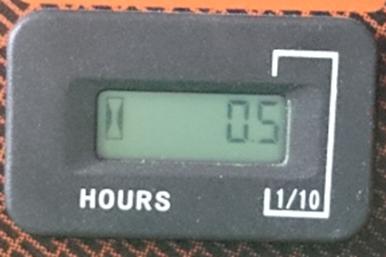 GENERAC LPガスポータブル発電機 LP5500 時間計