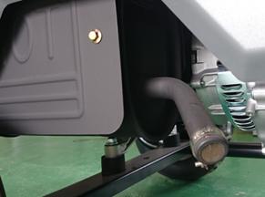 GENERAC LPガスポータブル発電機 LP5500 アフターファイヤー防止装置