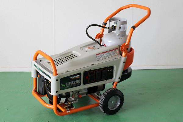 GENERAC LPガスポータブル発電機 LP3250