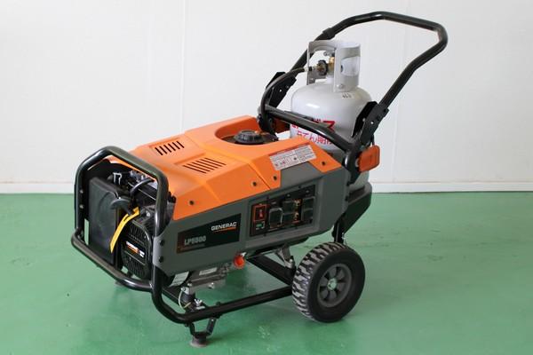 GENERAC LPガスポータブル発電機 LP5500