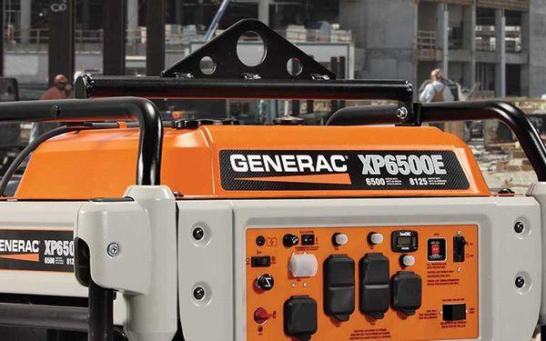 GENERACポータブル発電機 XPシリーズ 操作盤