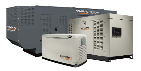 GENERAC非常用発電機 50hz発電機ラインアップ