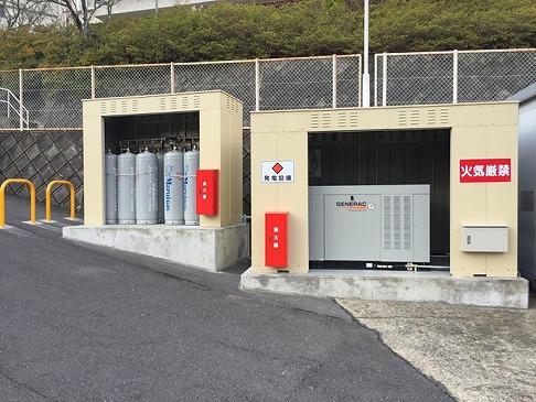 GENERAC非常用発電機 導入事例 京都府綾部市 特養施設