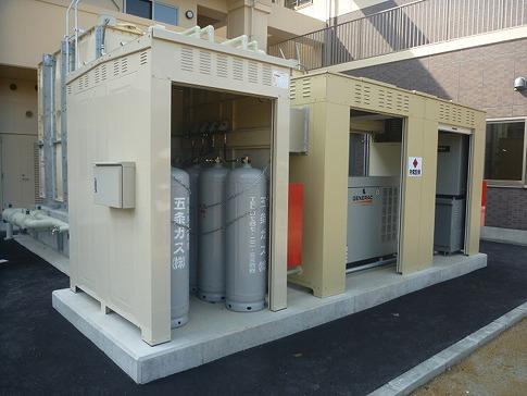 GENERAC非常用発電機 導入事例 奈良県五條市 特養施設