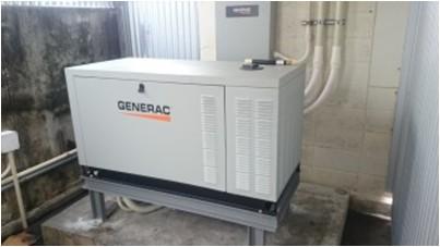 GENERAC非常用発電機導入事例 沖縄県宮古島市