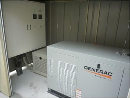 GENERAC非常用発電機導入事例 大阪府