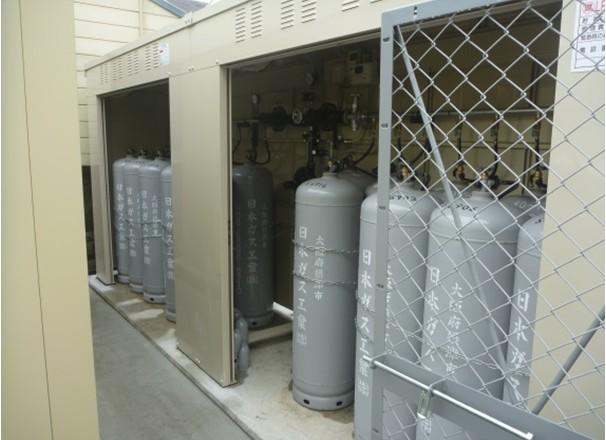 LPガス貯蔵庫