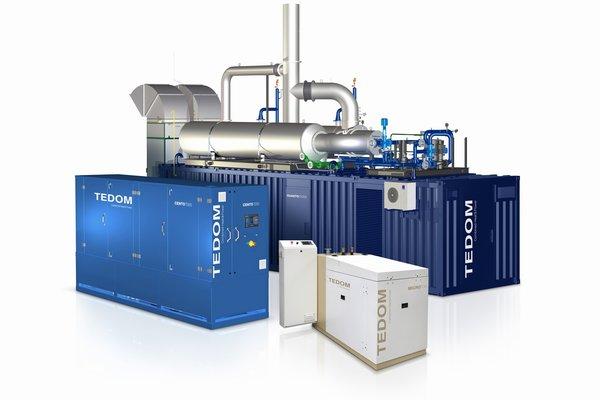 TEDOM ガスコージェネレーションシステム