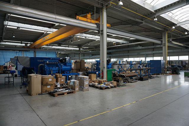 TEDOM 工場