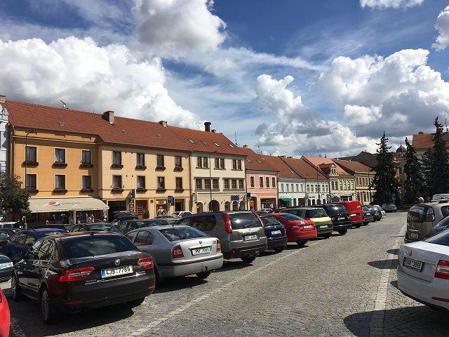 チェコの町並み