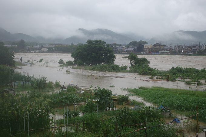 豪雨による災害